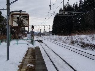 風景,空,雪,屋外,スキー,鉄道,覆う