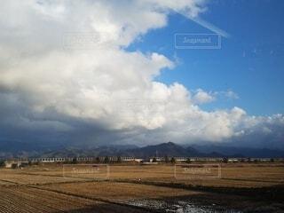 風景,空,屋外,雲,山,景色
