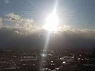 自然,空,屋外,太陽,雲,霧