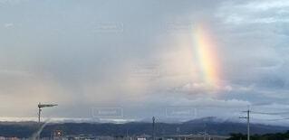風景,屋外,虹,レインボー,明るい