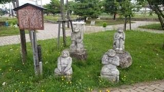 公園,花,屋外,草,樹木,像,墓,彫刻,草木,墓地
