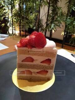 あまおうショートケーキの写真・画像素材[4797907]