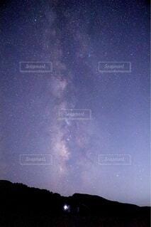 天の川からプレゼントの写真・画像素材[4769701]