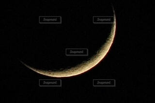 細い月の写真・画像素材[4834761]