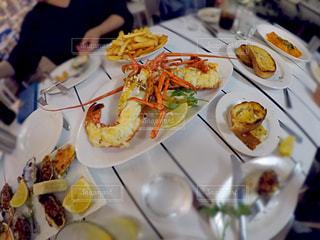 食事,海外,旅行,旅,レストラン,オーストラリア,休み,お洒落,ゴールドコースト,オマール海老,Omeros Bros Seafood Restaurant,シーフードレストラン,時価,海を眺めながら