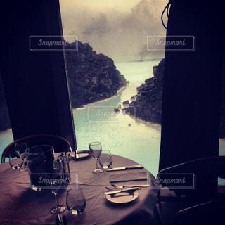 ブルーラグーンの美しい景色を見ながらランチ - No.757998