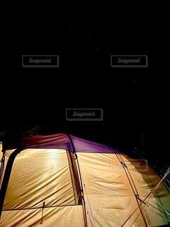 ホクトシチセイ「キャンプ」の写真・画像素材[4770707]