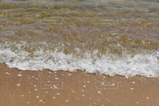 海の隣の砂浜の写真・画像素材[4778808]