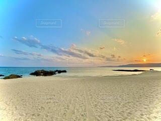 砂浜の癒しの写真・画像素材[4771149]