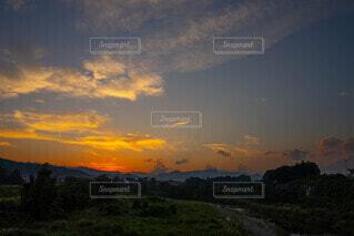 空の雲の写真・画像素材[4841293]