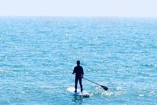 海の上の散歩の写真・画像素材[4844576]
