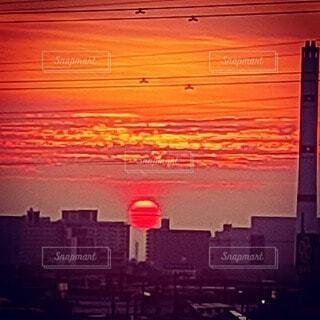 日の出の頃の写真・画像素材[4773260]