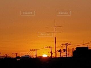 風景,空,屋外,太陽,夕暮れ,朝焼け,日の出,明るい