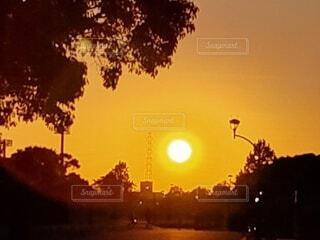 夕景の写真・画像素材[4783810]