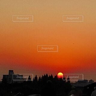 美しすぎる夕景の写真・画像素材[4815740]