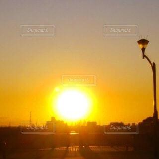 美しい日没の写真・画像素材[4815738]