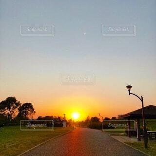 綺麗な夕景の写真・画像素材[4815741]