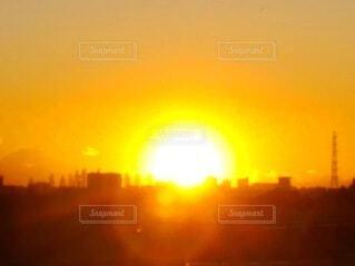 美しい夕陽の写真・画像素材[4815743]