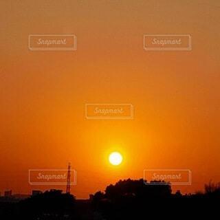 綺麗すぎる夕刻の写真・画像素材[4819671]