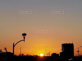 美しい日没時の写真・画像素材[4826721]