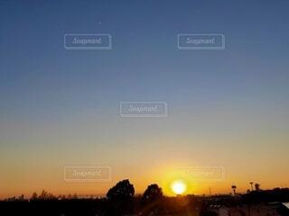 美しい日没の写真・画像素材[4826733]