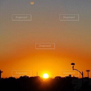美しい日没の写真・画像素材[4830992]