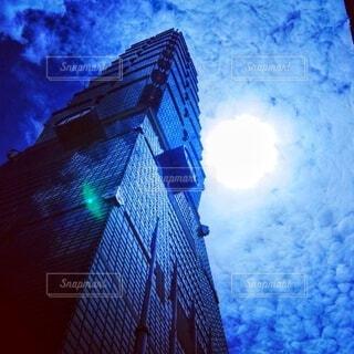 美しい台湾 台北101の写真・画像素材[4851236]