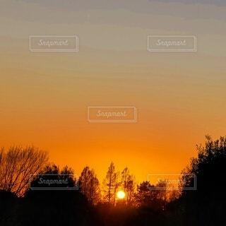 綺麗な夕景の写真・画像素材[4871860]
