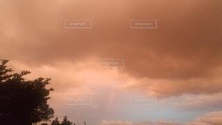 自然,風景,空,屋外,雲,夕焼け,夕暮れ,夕方,くもり
