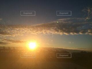 自然,空,屋外,太陽,雲,夕暮れ,霧