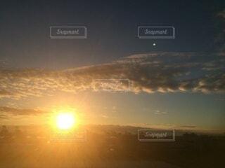 自然,空,屋外,太陽,雲,夕暮れ