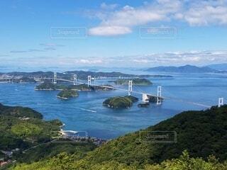 海,屋外,しまなみ海道,来島海峡大橋,亀老山山頂