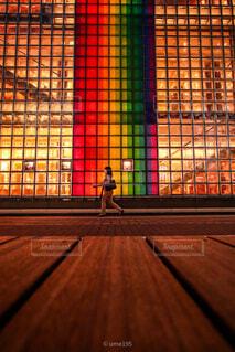 建物,東京,アート,人物,人,銀座,東京夜景
