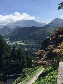 自然,風景,空,屋外,雲,道路,田舎,山,観光,家,樹木,道,旅行,山寺,山形,草木