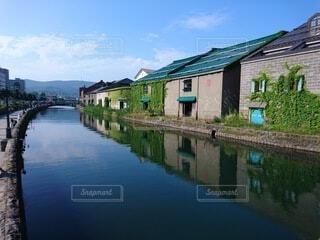 風景,空,建物,屋外,雲,川,水面,家,樹木,旅行,運河