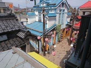 建物,レトロ,家,昭和,通り