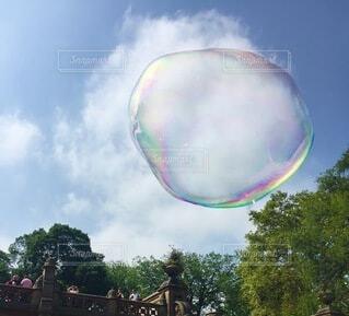 空,公園,屋外,雲,風船,シャボン玉,樹木,顕微鏡,遊び場,バブル,オブジェクト