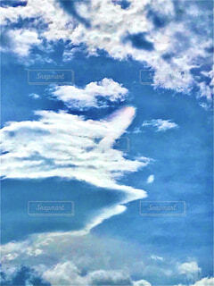 空,屋外,雲,青,青い空,飛ぶ,くもり