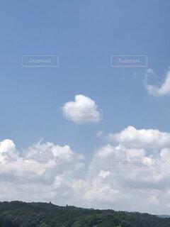 空,屋外,雲,昼間,積雲