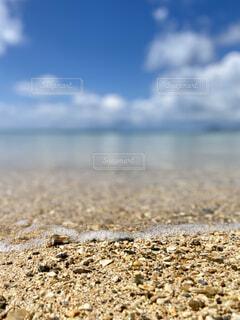 自然,海,空,屋外,砂,ビーチ,雲,水面,地面