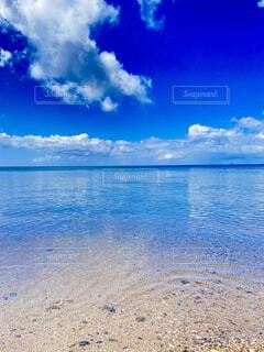 自然,風景,海,空,ビーチ,雲,水面