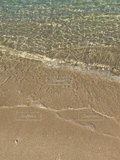 自然,海,ビーチ,透明,水面