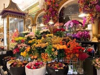 海外の花屋さんの写真・画像素材[4781650]