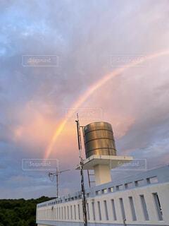 風景,空,屋外,雲,虹,沖縄,日常,iphone,雨上がり,okinawa,タンク,iphone12pro