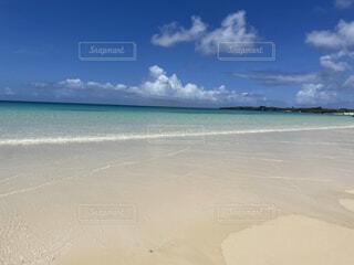 自然,風景,海,空,夏,屋外,湖,砂,ビーチ,雲,水面,海岸,沖縄,宮古島
