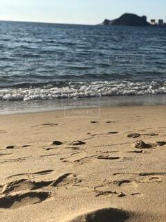 自然,風景,空,夏,屋外,ビーチ,砂浜,波,水面,海岸,日中