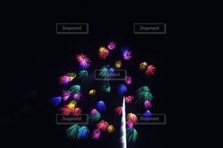 花火,カラー,七色,景観,小さい花火