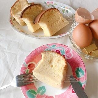 食べ物,ケーキ,黄色,デザート,ふわふわ,皿,甘い,バター,卵,おいしい,菓子,自家製,スナック