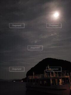 自然,風景,空,月,月明かり