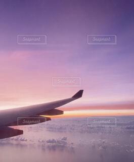 空,飛行機,幻想的,旅行,雲海